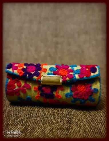 Pelerina tricotata trandafiri made in India