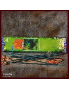 Sal Lana verde-gri brodat