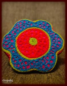Rochie lana albastra made in India