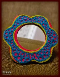 Rochie lana rosie made in India