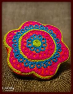 Rochie lana crem made in India