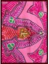 Sal Lana bej model flori roz brodat